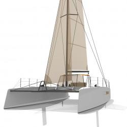 Catamaran Day Charter DAY1 50 vue avant 4
