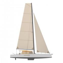Catamaran Day Charger DAY1 70 profil
