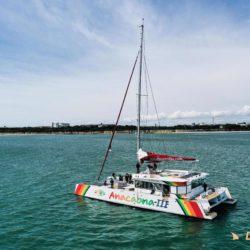 Anacaona essais en mer