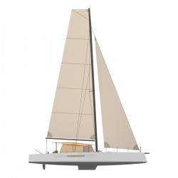 Catamaran Day Charger DAY1 70 profil