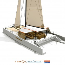 Catamaran Day Charter Day1 70_Vue arrière 3